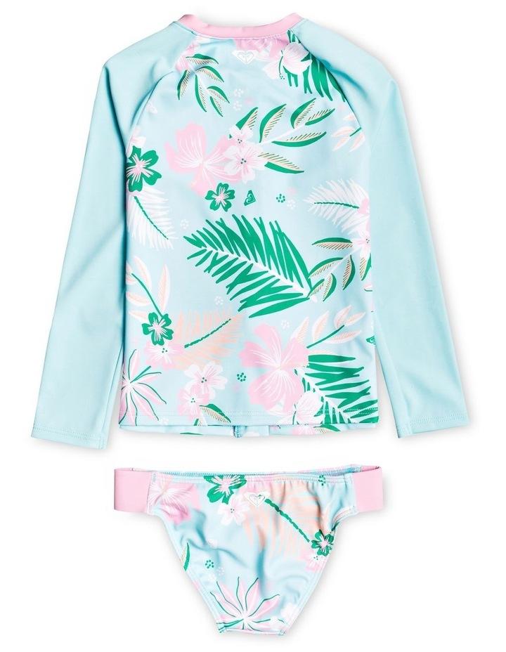 Sunshine Long Sleeve Zipped UPF 50 Rash Vest Set image 2