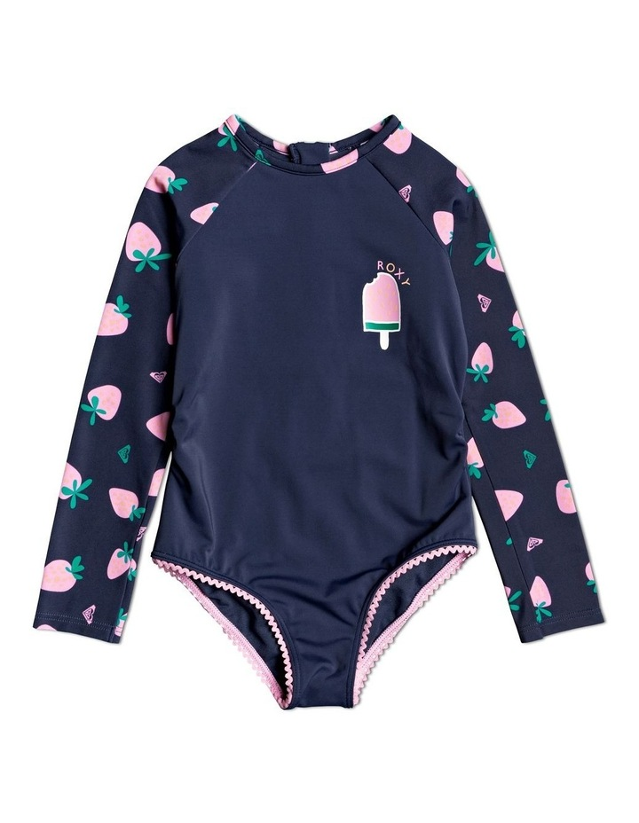 Such A Day - Long Sleeve Zipped UPF 50 One-Piece image 1