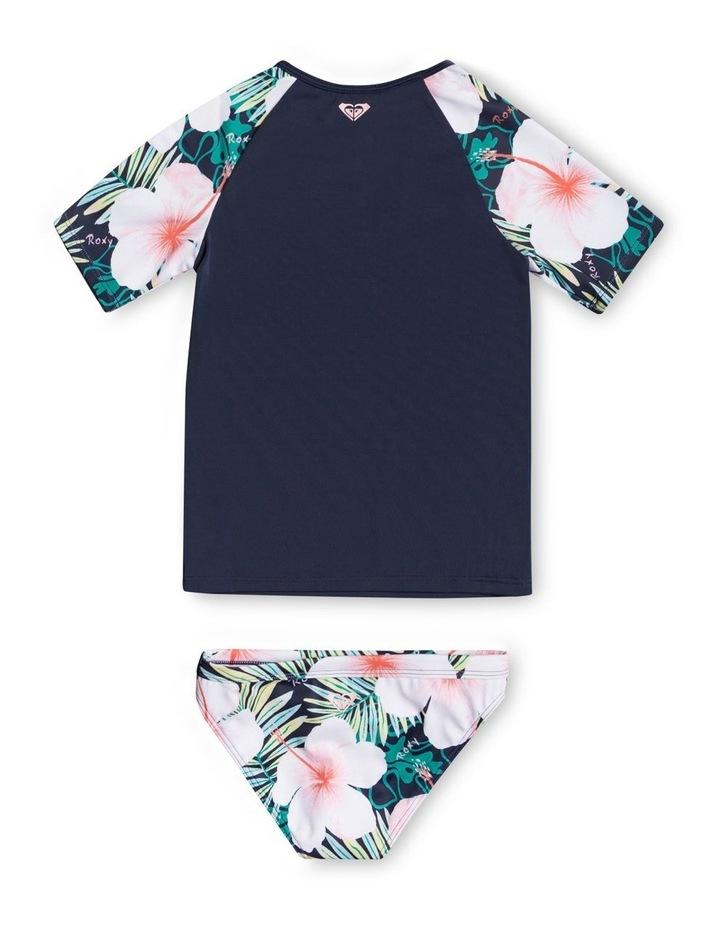 Peachy Vibes - Short Sleeve UPF 50 Rash Vest Set image 2