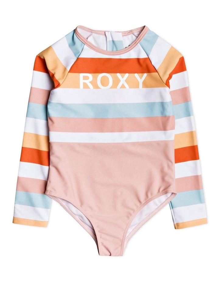 Jolis Parasols - Long Sleeve UPF 50 One-Piece Swimsuit for Girls 2-7 image 1