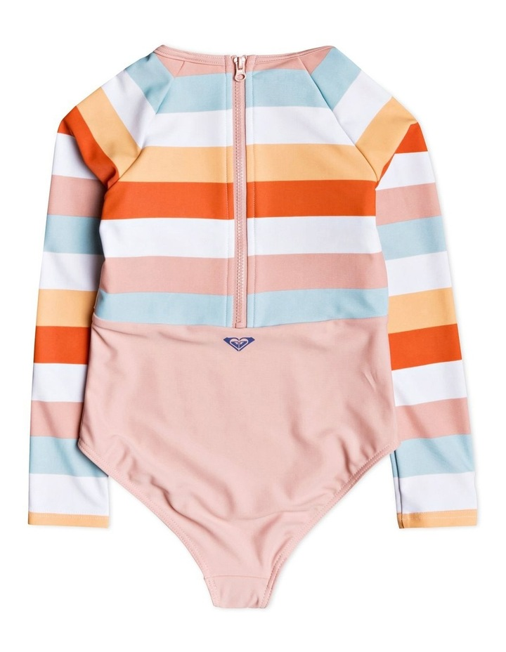 Jolis Parasols - Long Sleeve UPF 50 One-Piece Swimsuit for Girls 2-7 image 2