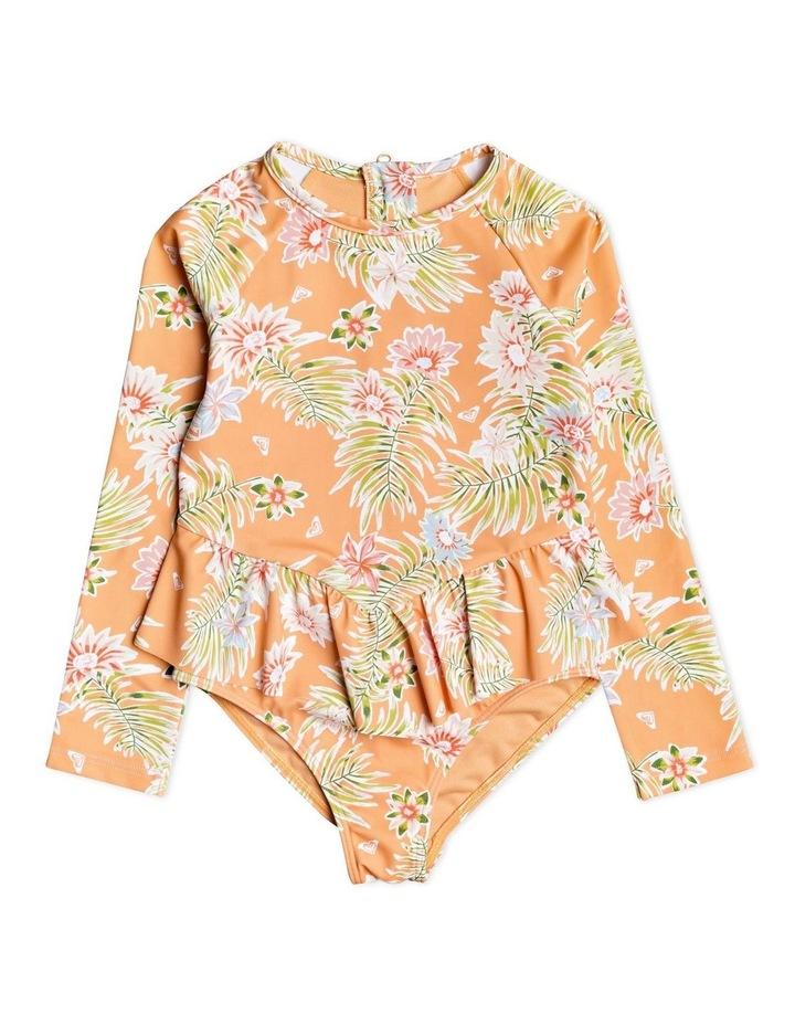 Florasea - Long Sleeve UPF 50 One-Piece Swimsuit image 1