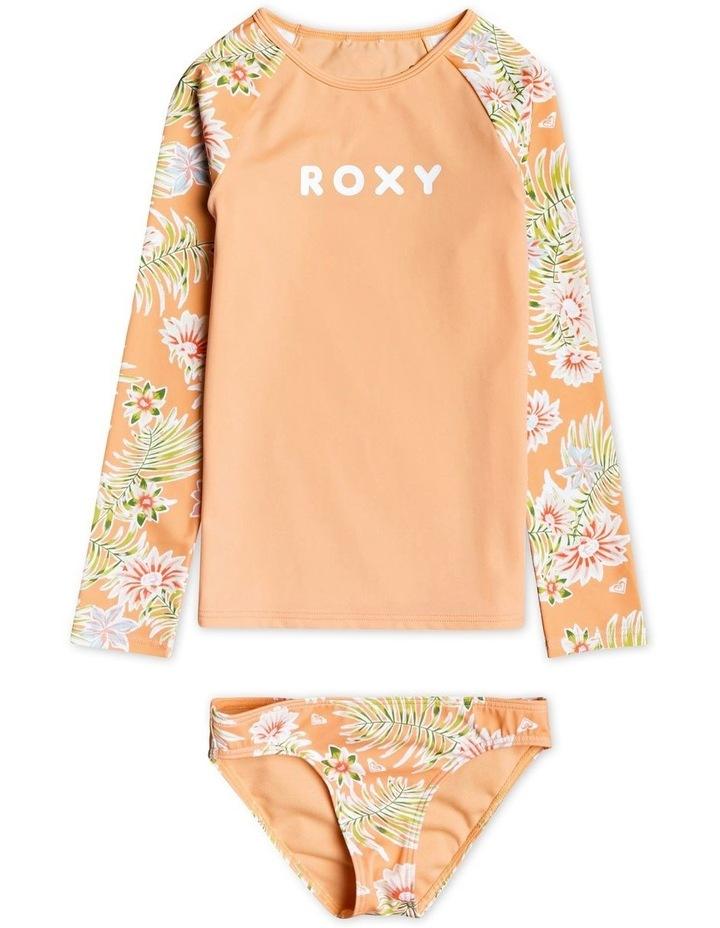 Florasea - Long Sleeve UPF 50 Rash Vest Set for Girls image 1
