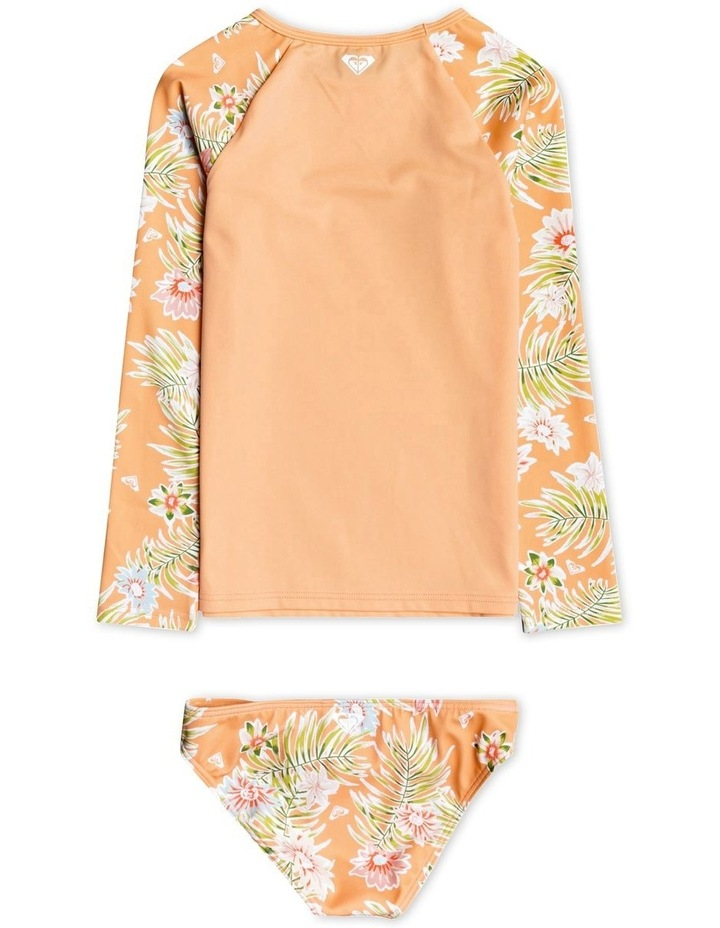 Florasea - Long Sleeve UPF 50 Rash Vest Set for Girls image 2