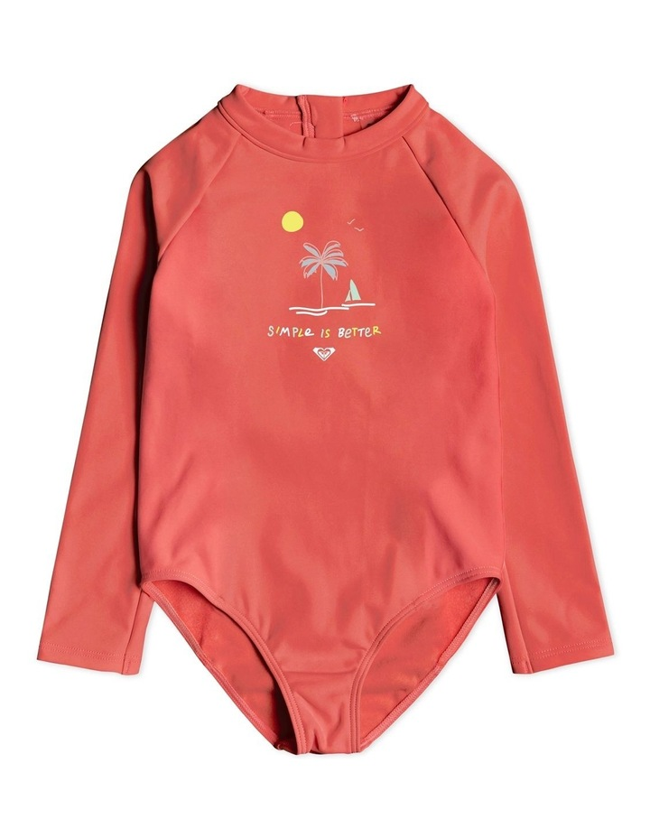 Thermo - Long Sleeve UPF 50 One-Piece Swimsuit image 1