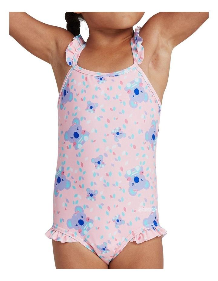 Toddler Girls Koko Koala Allover Thinstrap Swimsuit image 2