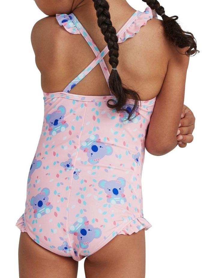 Toddler Girls Koko Koala Allover Thinstrap Swimsuit image 3