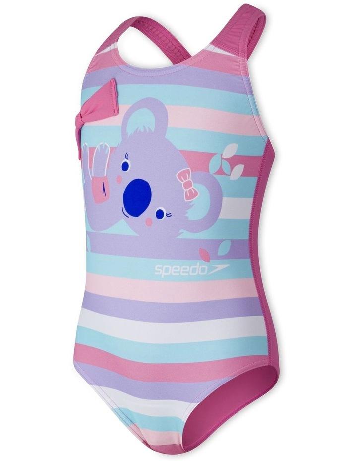 Toddler Girls Koko Koala Placement Crossback Swimsuit image 1