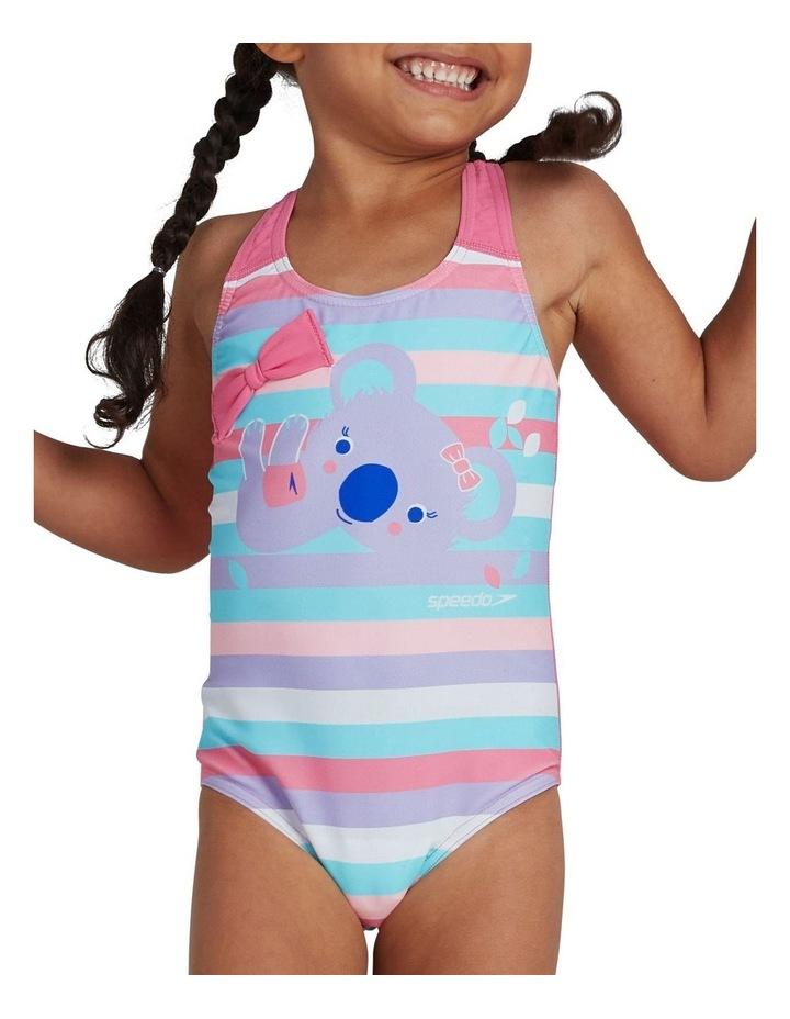 Toddler Girls Koko Koala Placement Crossback Swimsuit image 2