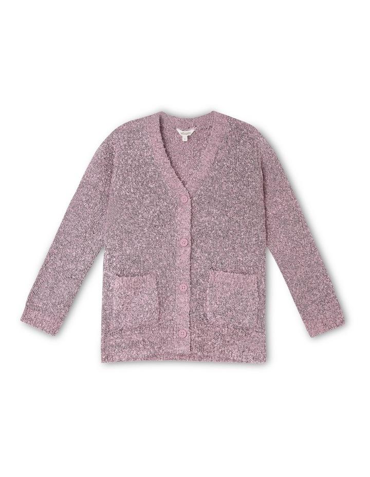 Boucle Knit Cardigan image 1