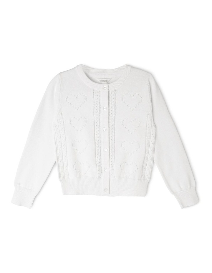 Long Sleeve Knit Cardigan image 1