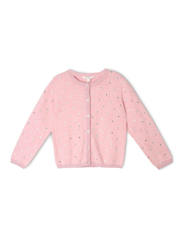 Studded Button Down Cardigan image 1