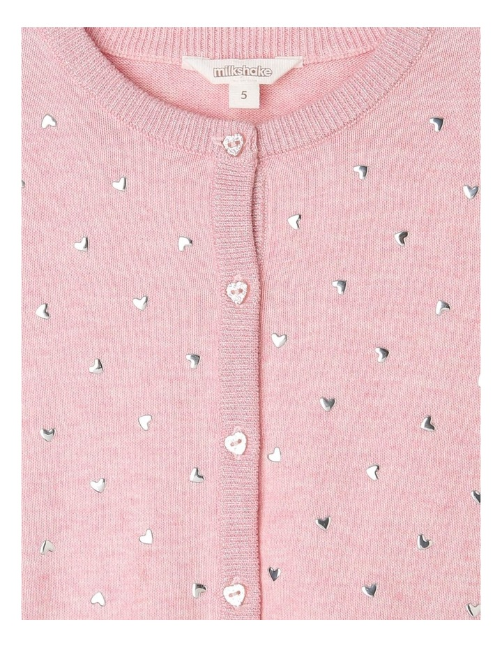 Studded Button Down Cardigan image 2
