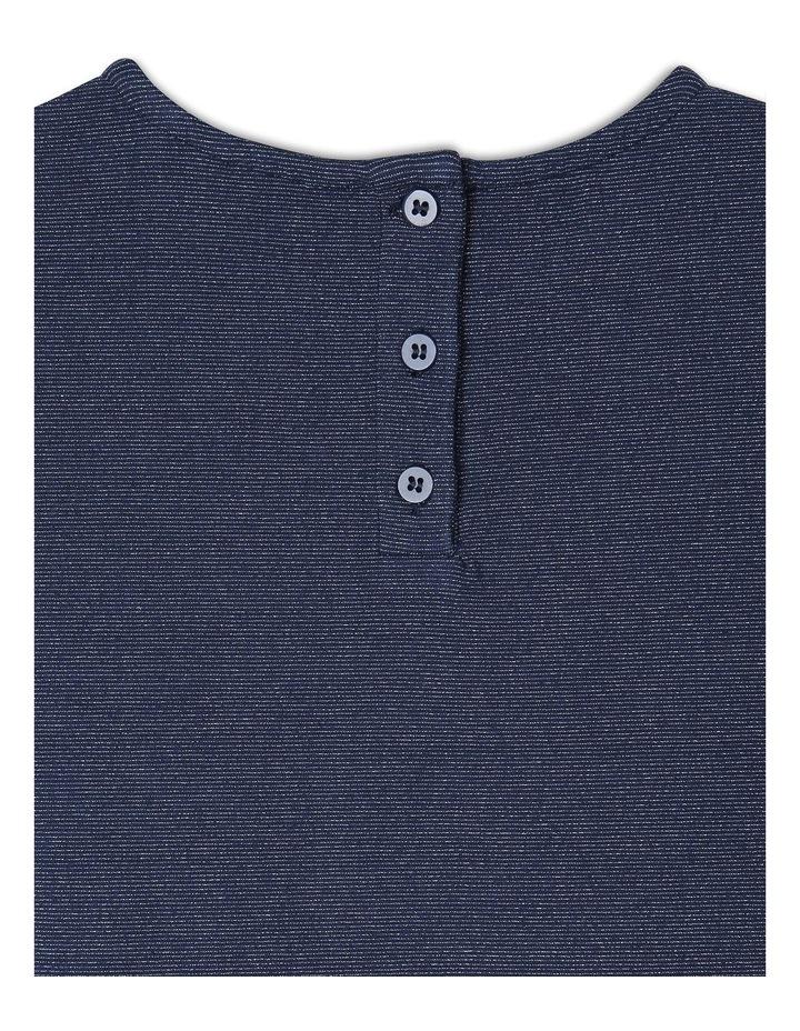 Long Sleeve Knit Peplum Tee image 4