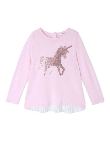 59ea272f90 Limited stock. MilkshakeLong Sleeve Knit Top ...