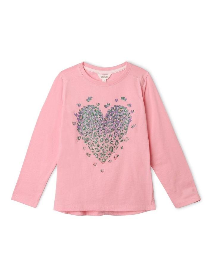 Essentials Long-Sleeve Heart T-Shirt image 1