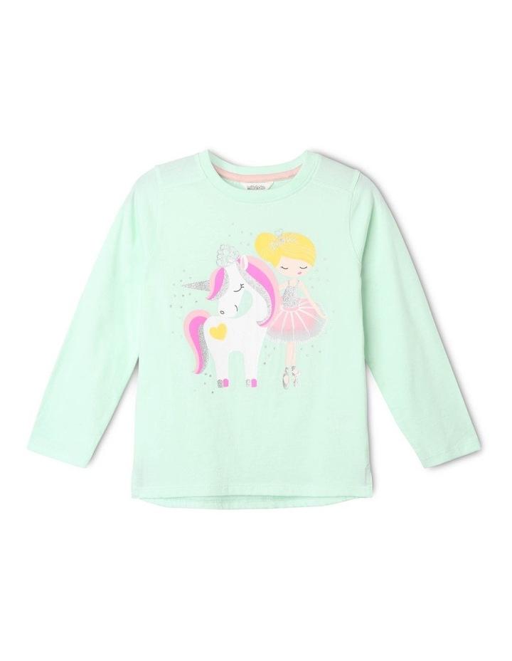 Essentials Long-Sleeve Print T-Shirt image 1