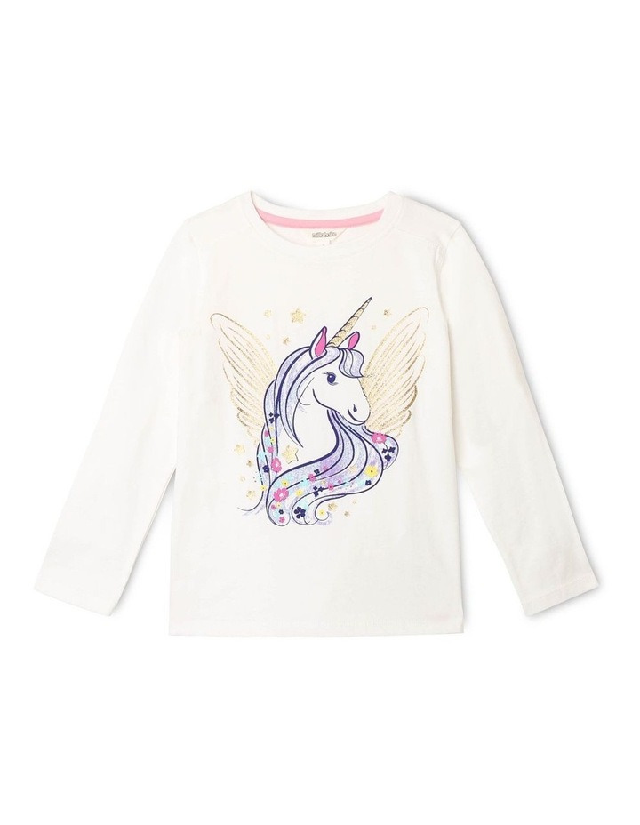Essentials Long-Sleeve Print T-Shirt image 1