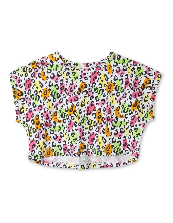 Knit Crop T-Shirt image 1