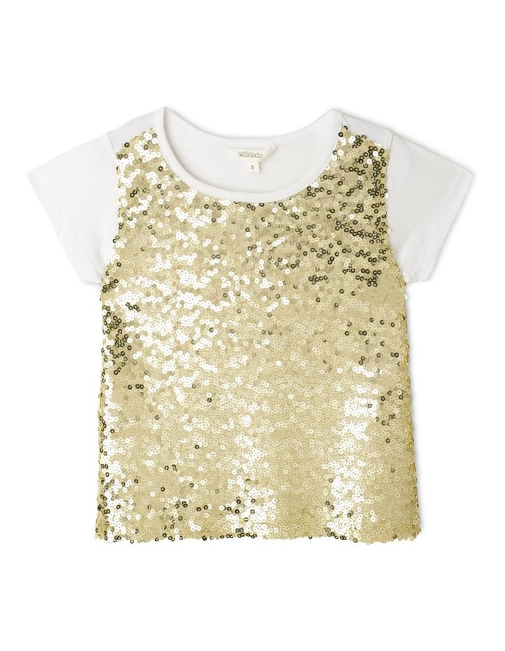 Knit Sequin T-Shirt image 1