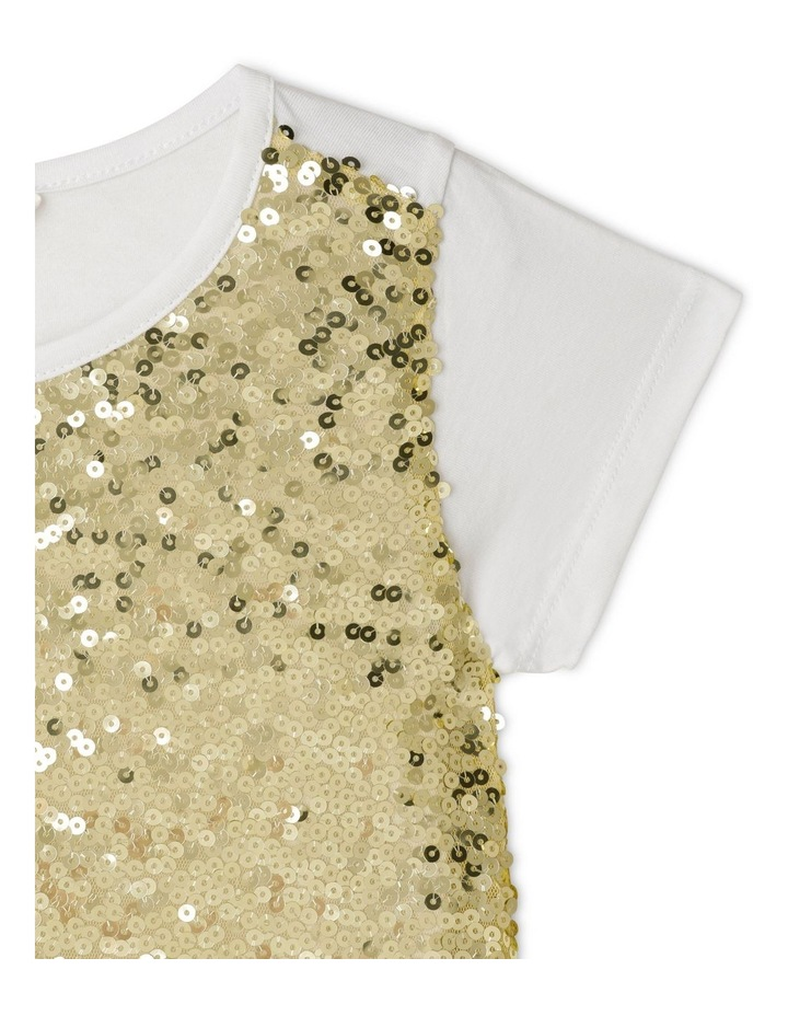 Knit Sequin T-Shirt image 3
