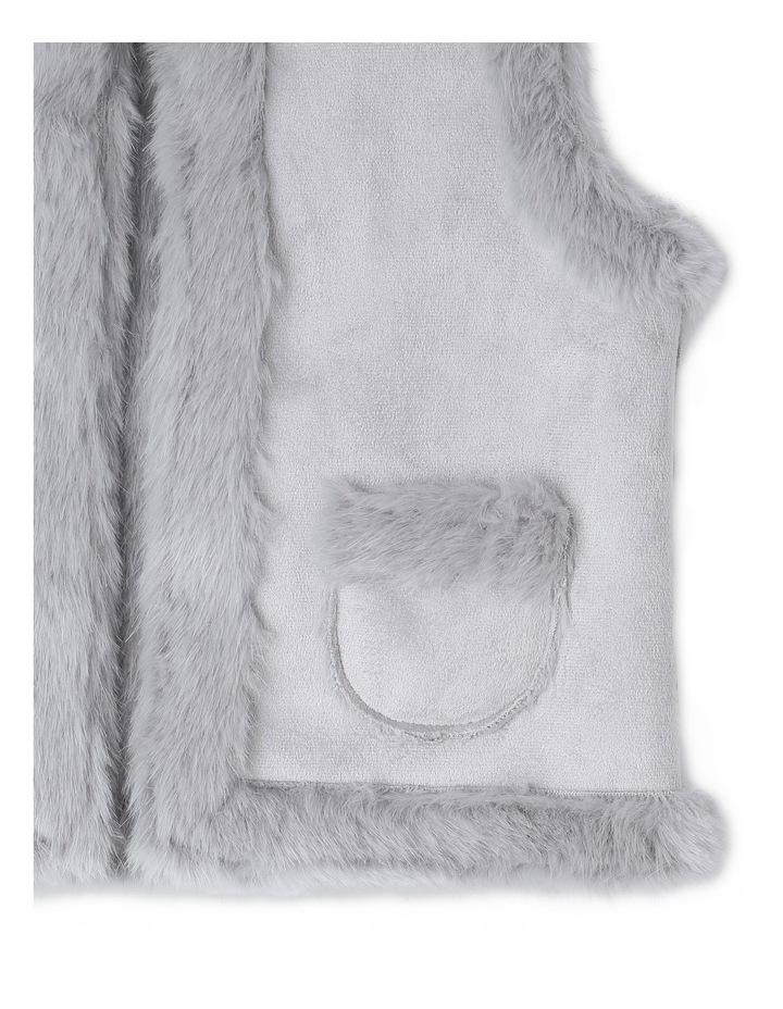 Suedette Fur Vest image 2