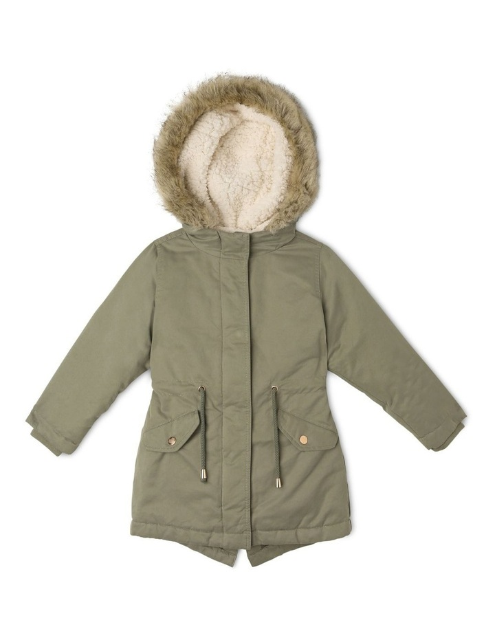 Anorak With Fur Trim image 1