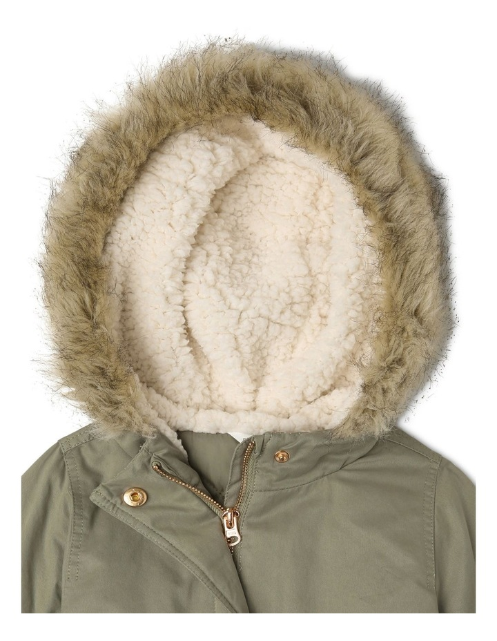 Anorak With Fur Trim image 3