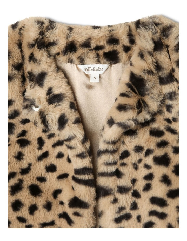 Fur Jacket with Pom Poms image 2