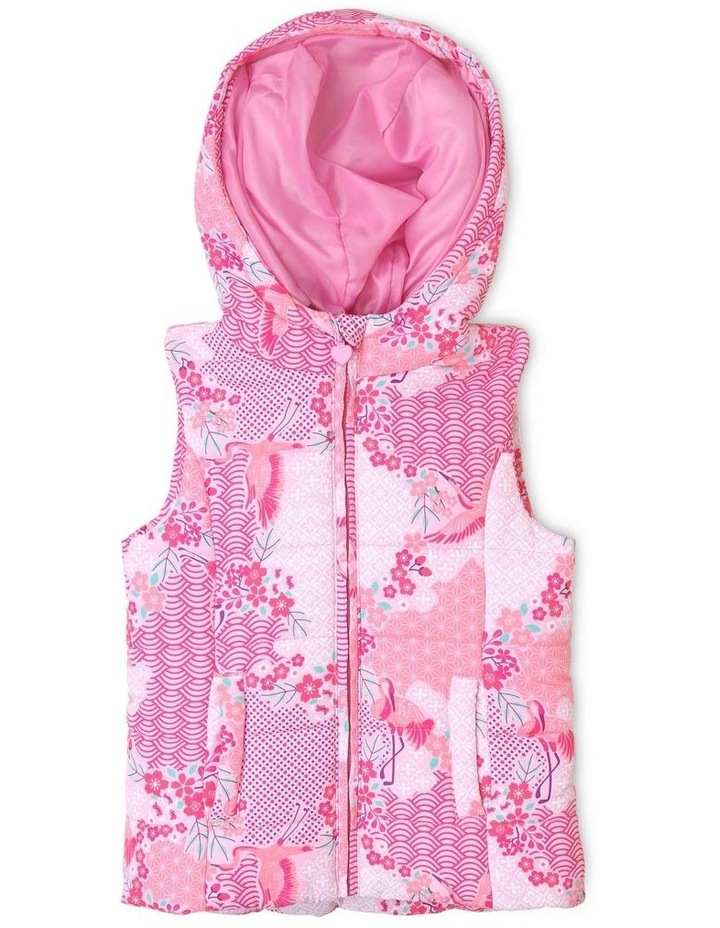 Hooded Puffer Vest image 1