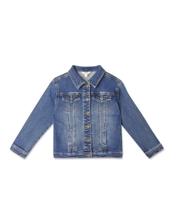Classic Mid Wash Denim Jacket image 1