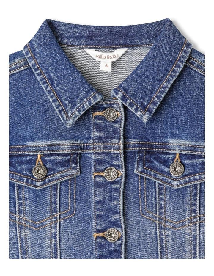 Classic Mid Wash Denim Jacket image 2
