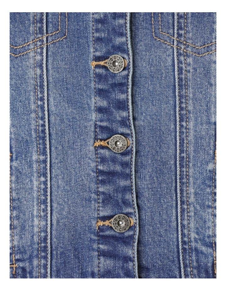Classic Mid Wash Denim Jacket image 3
