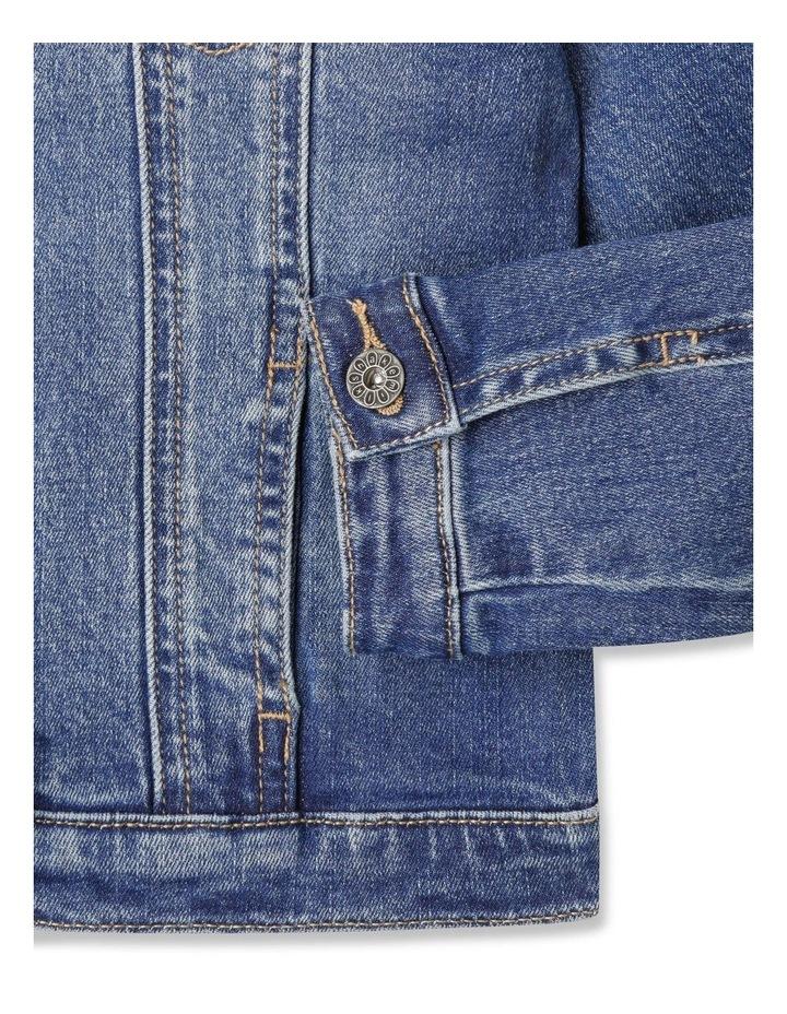 Classic Mid Wash Denim Jacket image 4