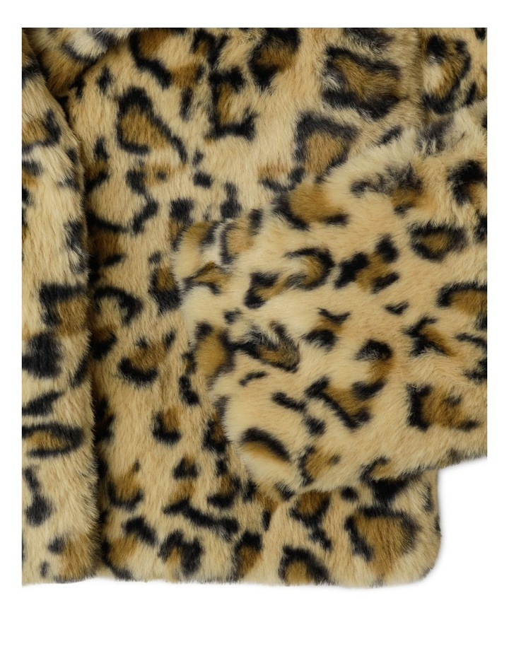 Collarless Fur Jacket image 4