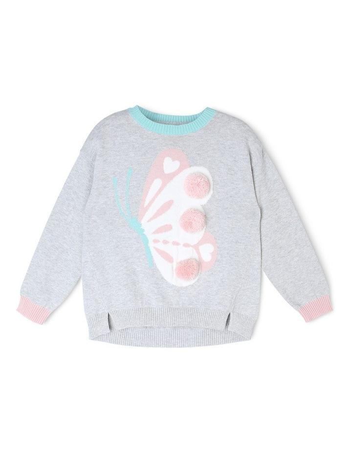 Drop Shoulder Knitted Jumper image 1