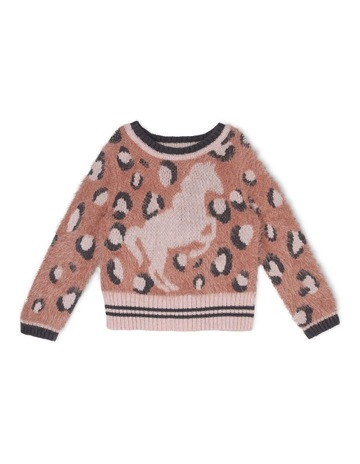 b40bd7f7d586 Milkshake Knitted Intarsia Jumper