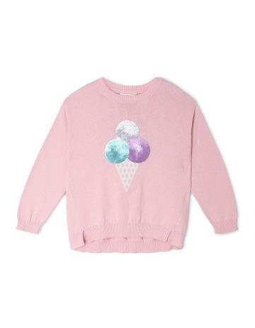 1f35eab61 MilkshakeDrop Shoulder Knitted Jumper