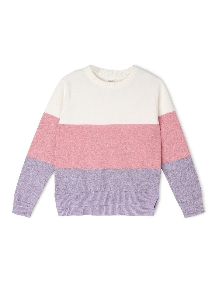 Intarsia Knitted Jumper image 1