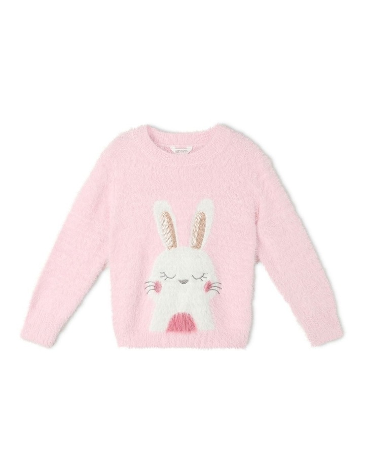 Eyelash Knit Bunny Jumper image 1