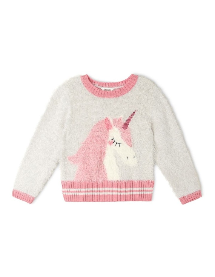 Knitted Intarsia Jumper image 1