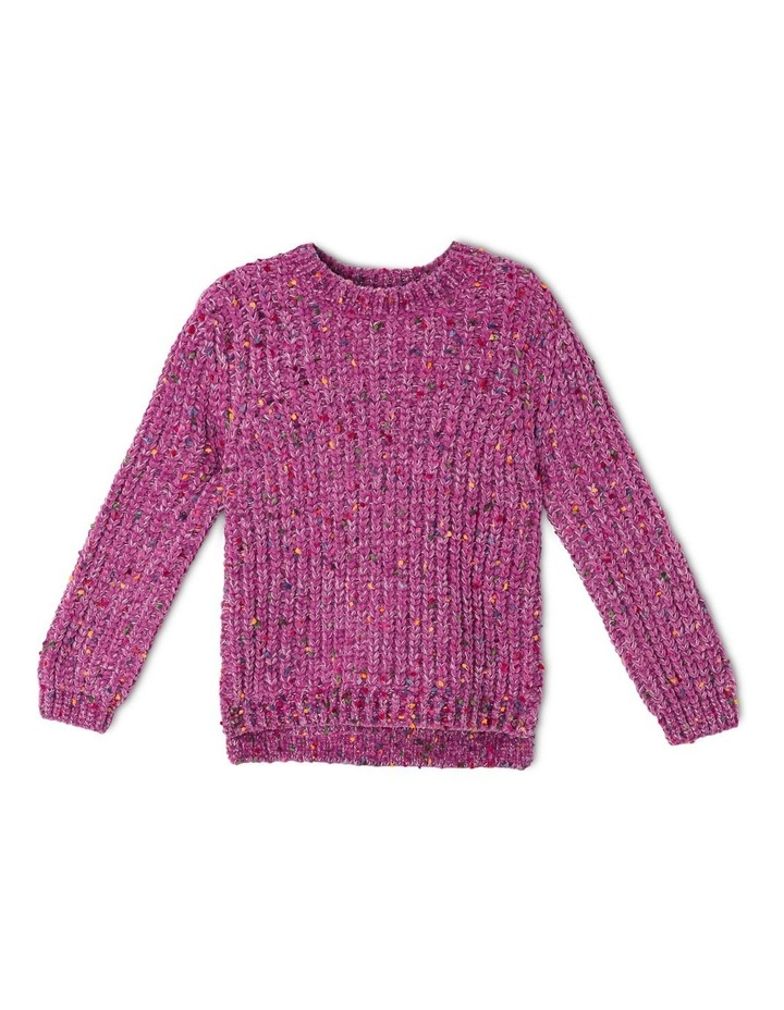 Knitted Chenille Jumper image 1