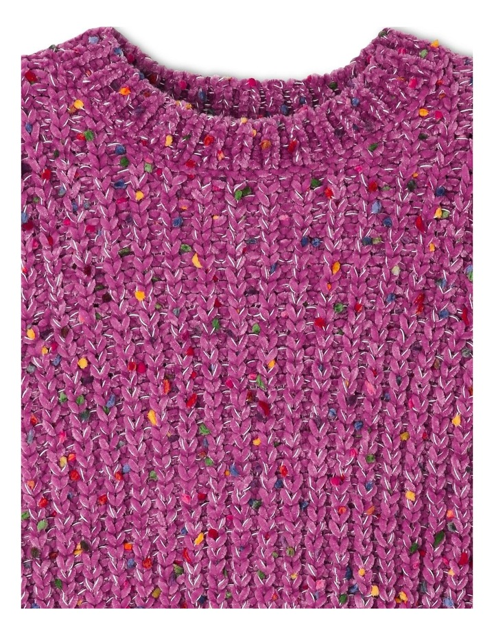 Knitted Chenille Jumper image 2
