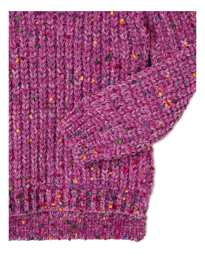 Knitted Chenille Jumper image 3