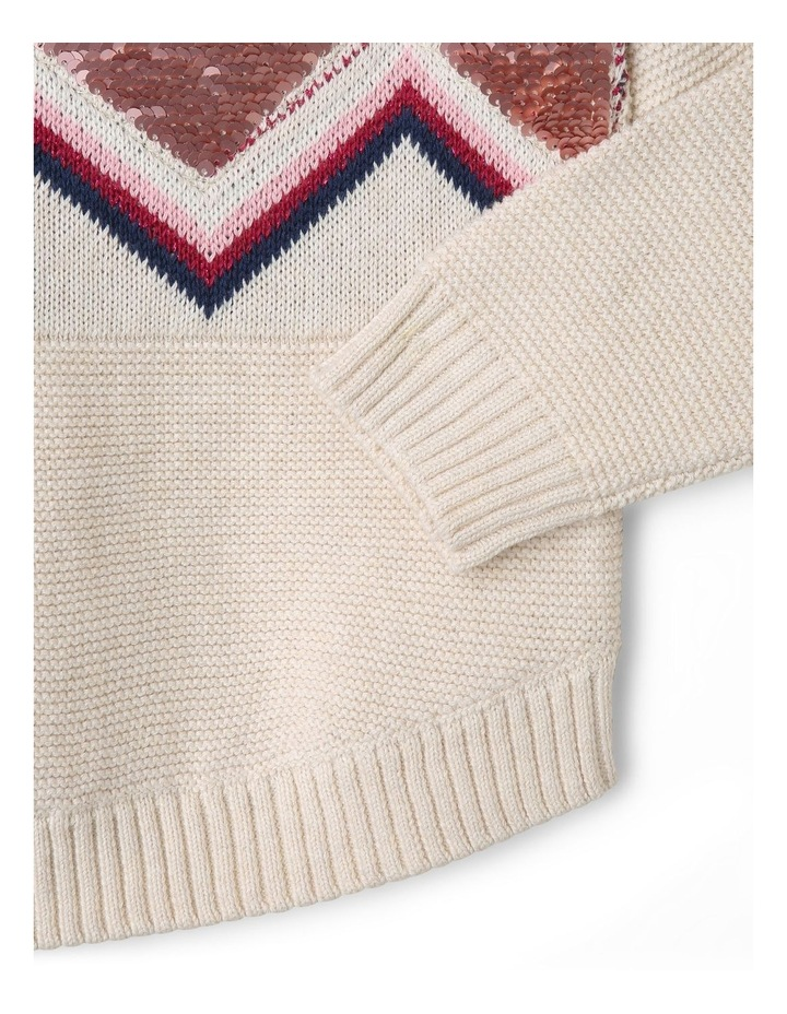 Knitted Intarsia Jumper image 5