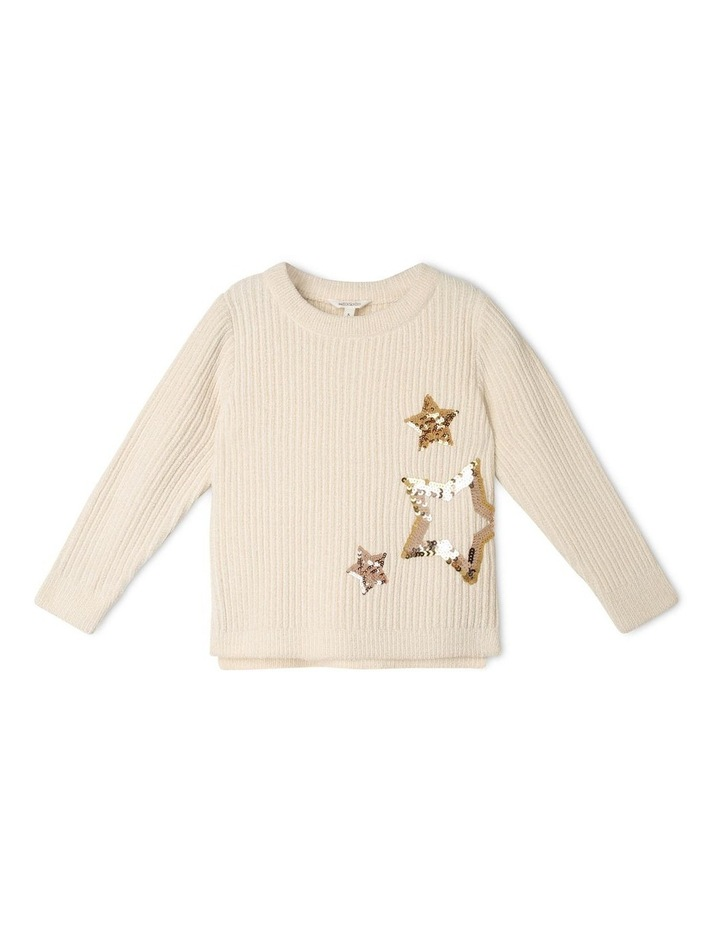 Knitted Lurex Chenille Jumper image 1