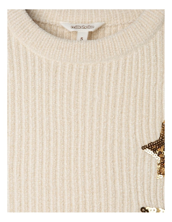 Knitted Lurex Chenille Jumper image 3