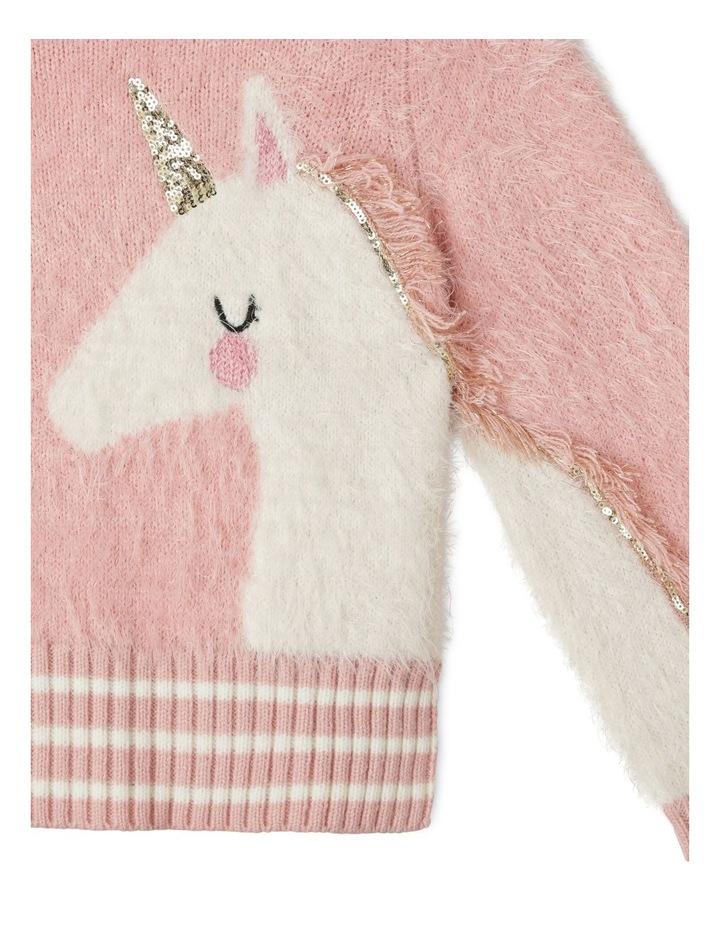Eyelash Knit Instarsia Sweater image 2
