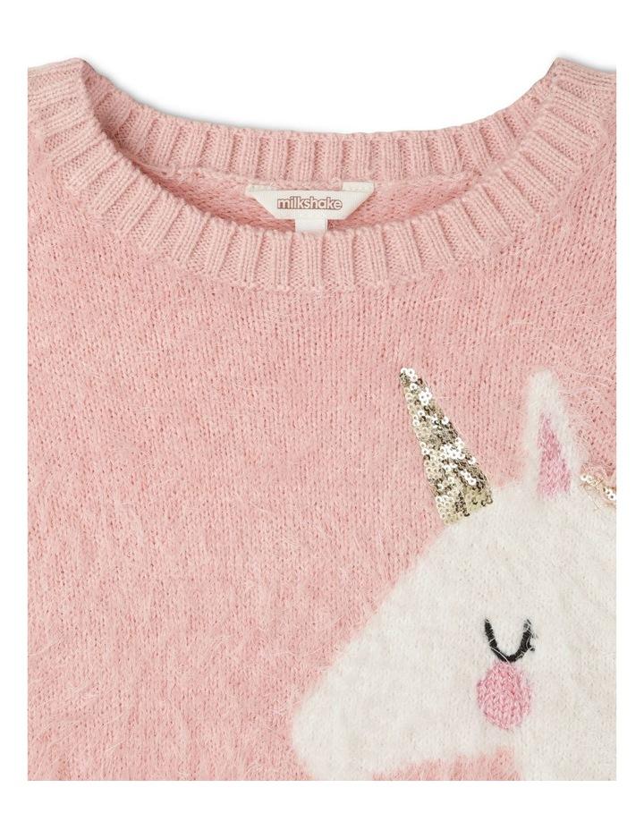 Eyelash Knit Instarsia Sweater image 3