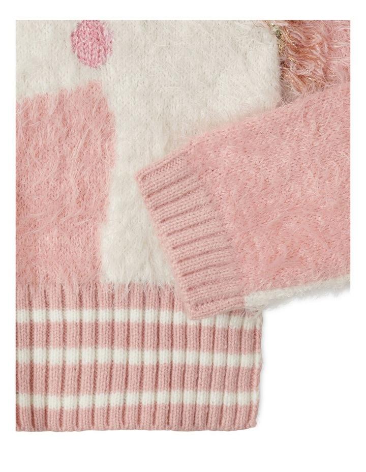 Eyelash Knit Instarsia Sweater image 4